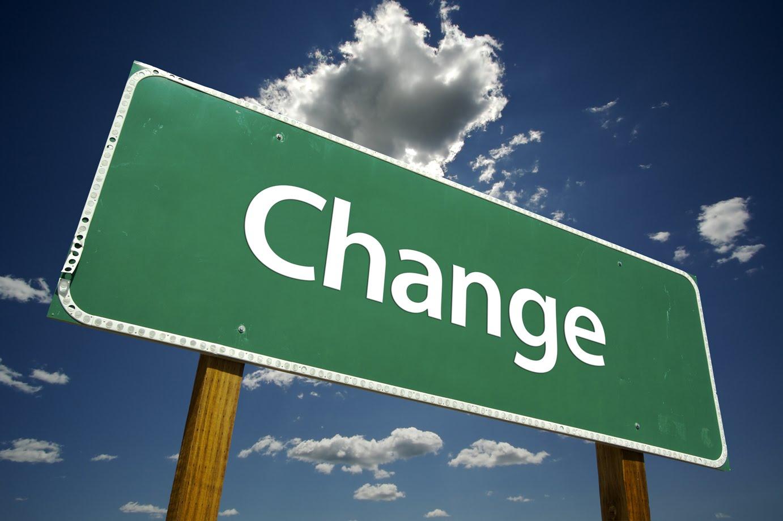 Ser consciente del cambio