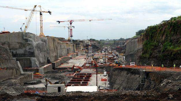 Obras canal de Panamá